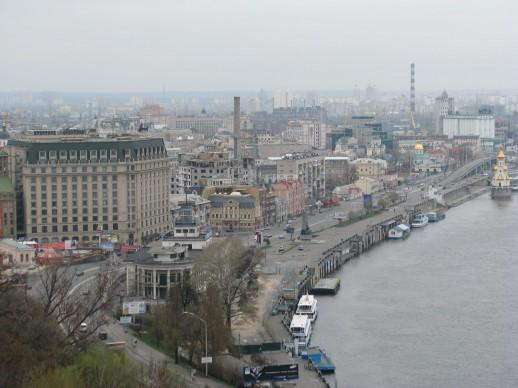 Смотровая площадка на Киев