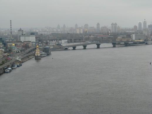 Отличный вид на Киев