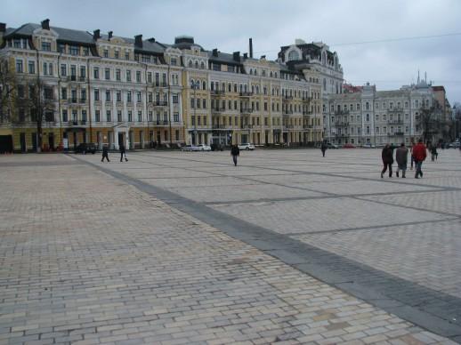 возле Софии Киевской