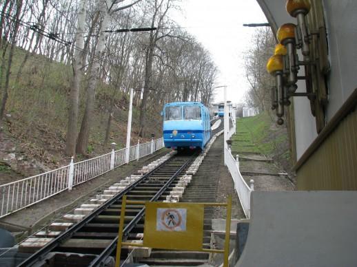 Дорога Фуникулера в Киеве