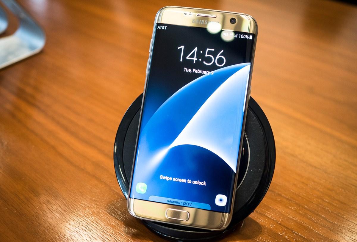 Беспроводная зарядка для Samsung S7